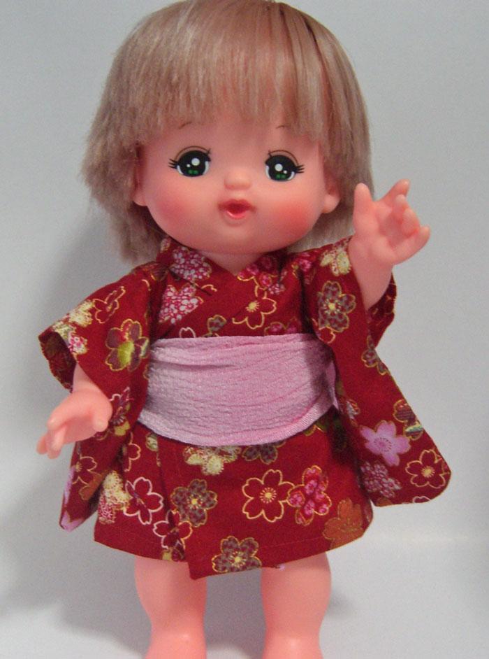 作り方☆「着物(振袖・浴衣)」メルちゃん・はなちゃん等の人形